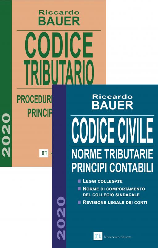Pacchetto Codici Civile + Tributario 2020