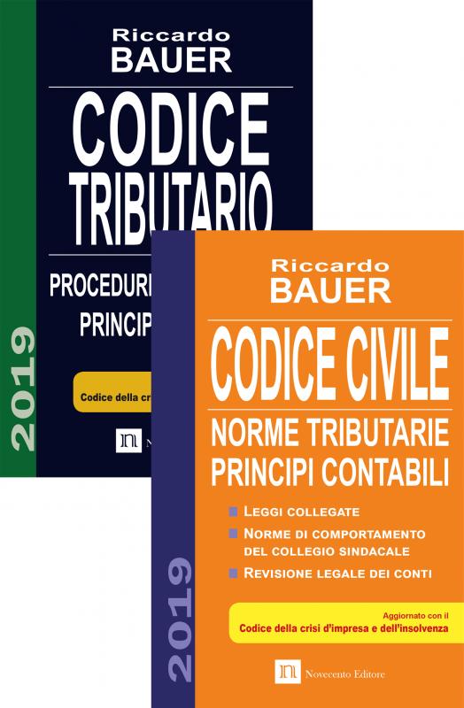 Pacchetto Codici Civile + Tributario 2019